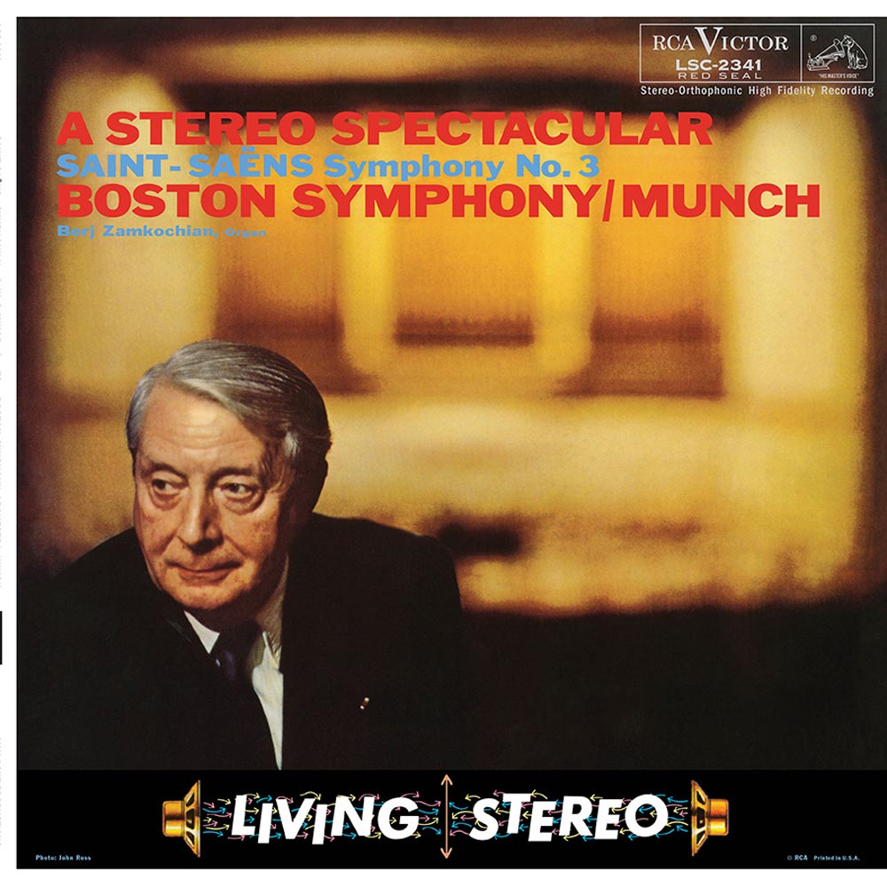 Charles Munch & Boston Symphony Orchestra - Saint Saëns: Symphony No.3 in C minor, Op. 78