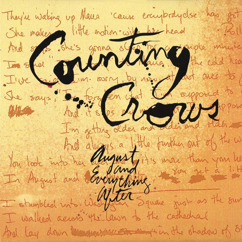Counting Crows - August And Everything After (200g 45rpm)