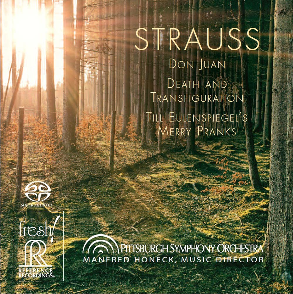 Manfred Honeck  & Pittsburgh Symphony Orchestra: Strauss - Don Juan, Death and Transfiguration, Till