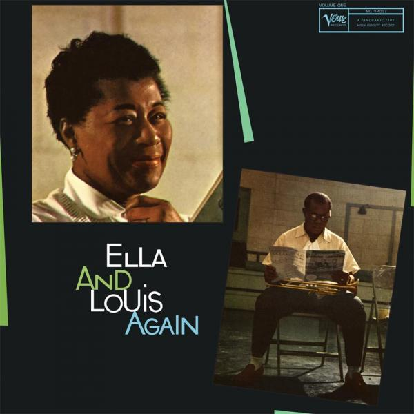 Ella Fitzgerald and Louis Armstrong - Ella and Louis Again (200g 45rpm)