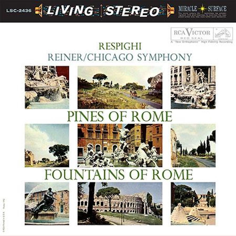 Fritz Reiner - Respighi: Pines of Rome & Fountains of Rome (200g 45rpm)