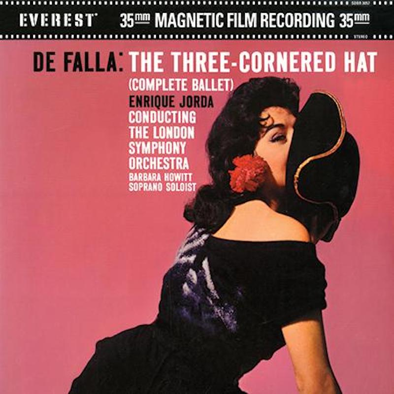 Enrique Jorda - Falla: The Three-Cornered Hat (200g 45rpm)