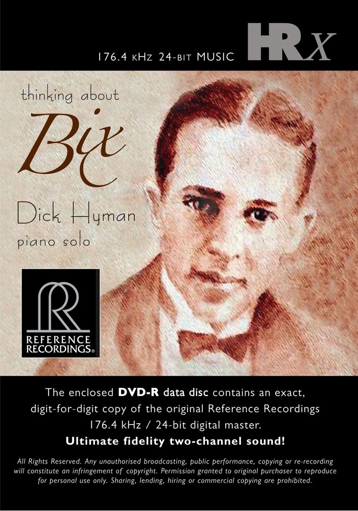 Dick Hyman - Thinking about Bix (HRx)