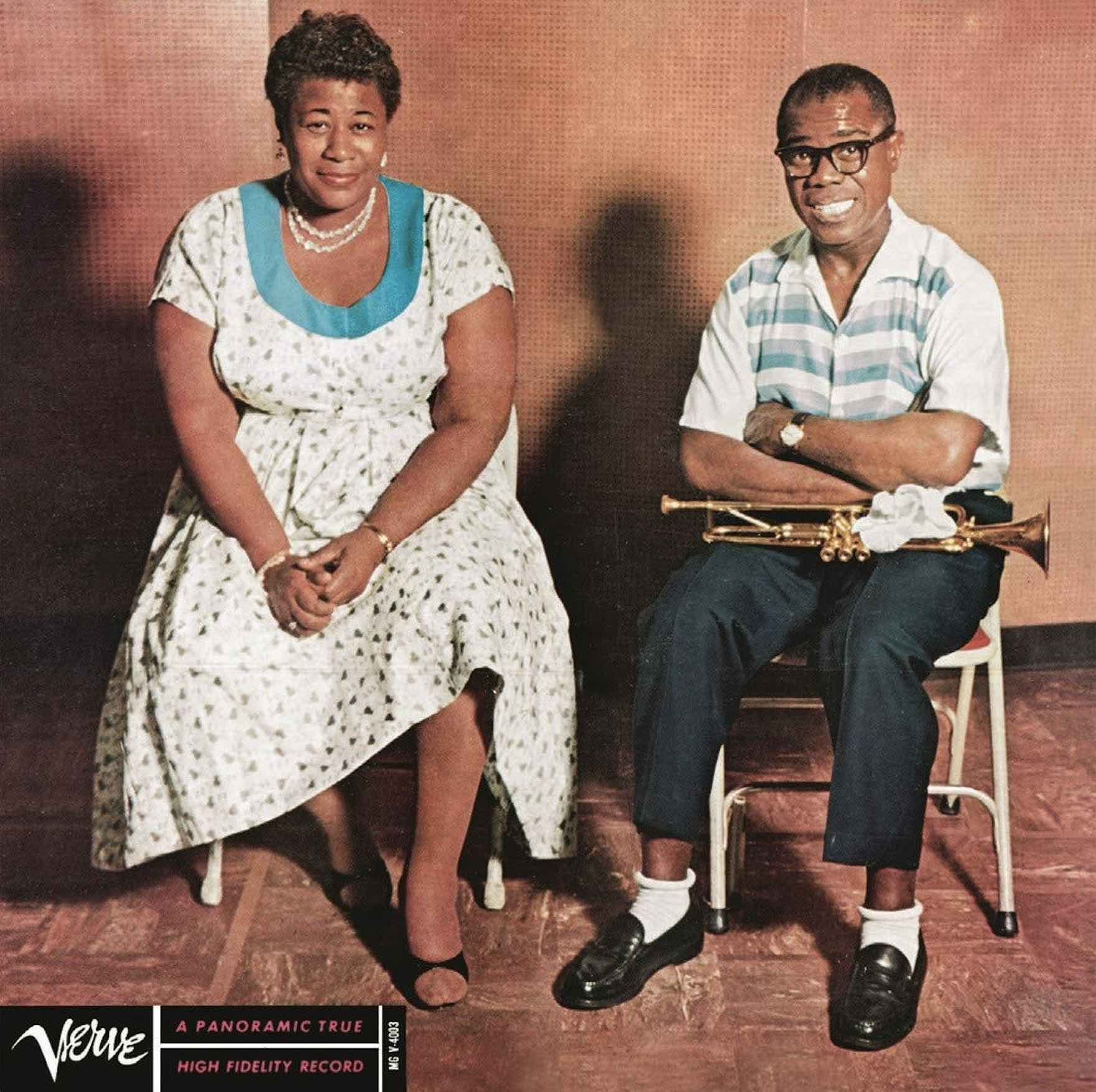 Ella Fitzgerald and Louis Armstrong - Ella and Louis  (200g 45rpm Mono)