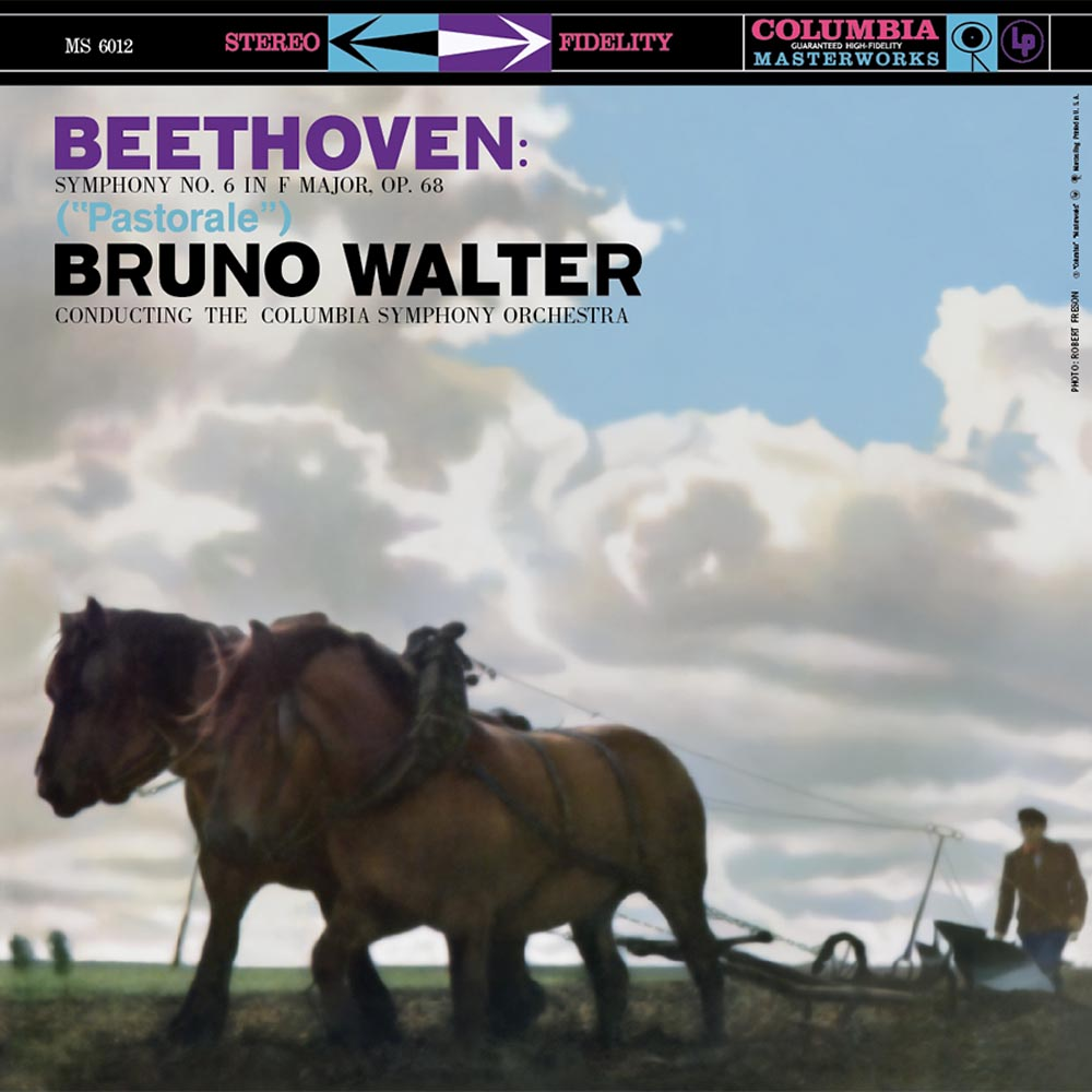 "Bruno Walter & Columbia Symphony Orchestra – Beethoven: Symphony No. 6 in F major, op. 68 ""Pastorale"" (200g 45rpm)"