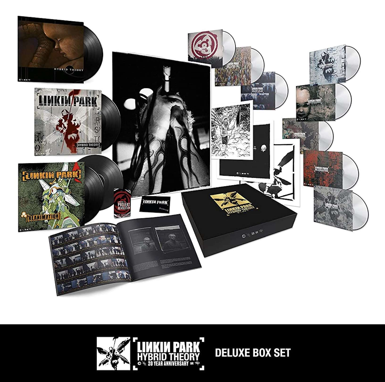 Linkin Park - Hybrid Theory 20th Anniversary Super Deluxe Box Set  LP + CD + DVD