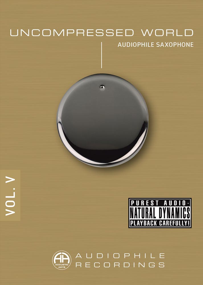 Uncompressed World Volume V - Audiophile Saxophone