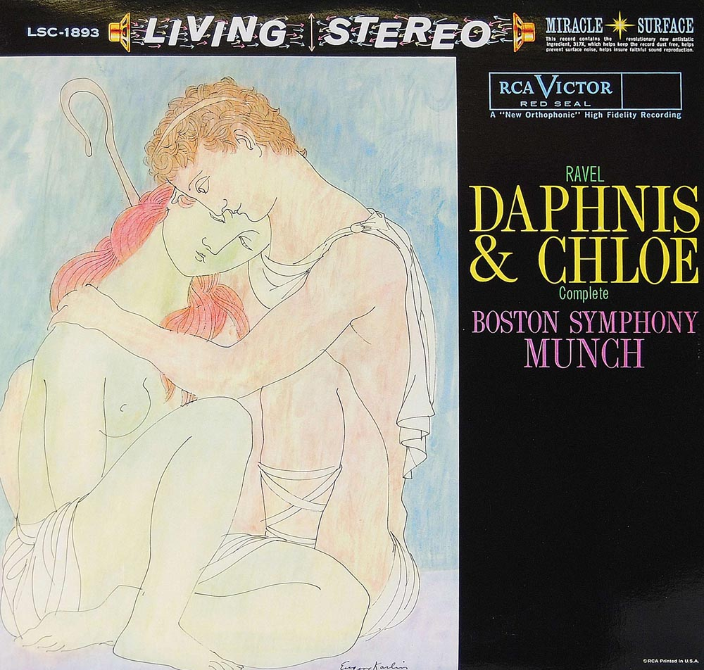 Charles Munch, Boston Symphony Orchestra - Ravel: Daphnis And Chloe