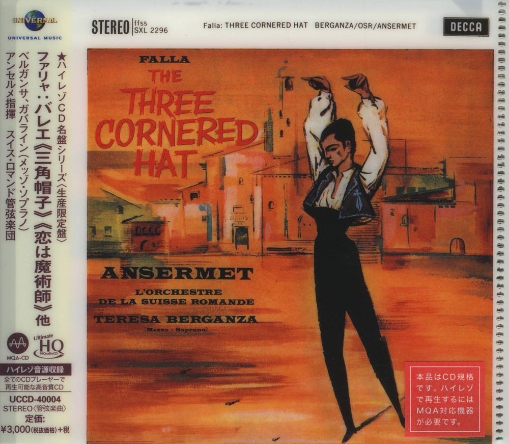 Ansermet & Orchestra de la Suisse Romande - Falla: The Three Cornered Hat