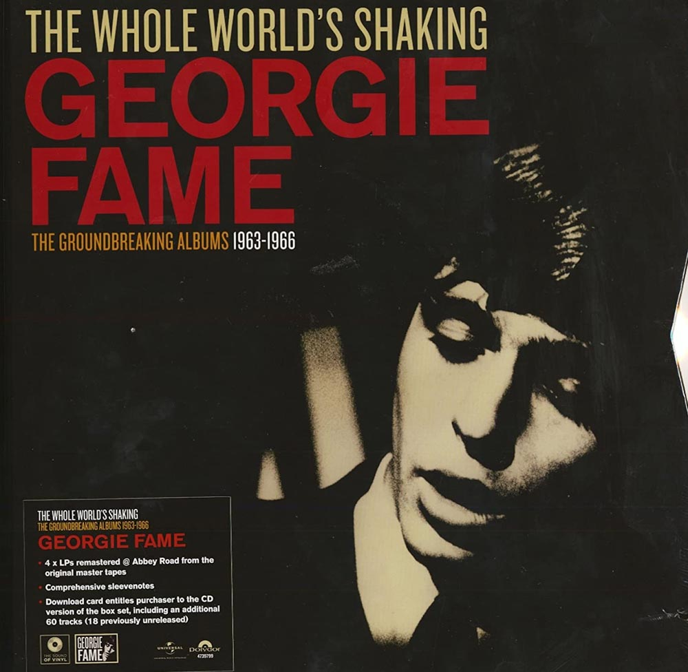 Georgie Fame - The Whole World's Shaking - The Groundbreaking Albums 1963-1966 (4-LP Box Ltd.)