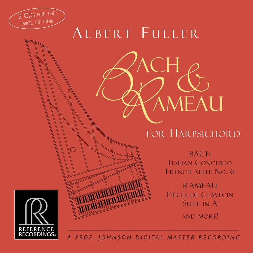 Albert Fuller - Bach and Rameau for Harpsichord