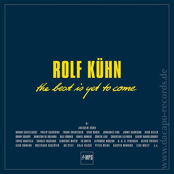 Rolf Kühn - The Best is yet to Come - Box Set 9 LP´s