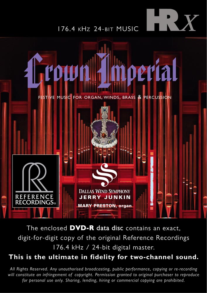 Junkin & Dallas Wind Symphony - Crown Imperial (HRx)