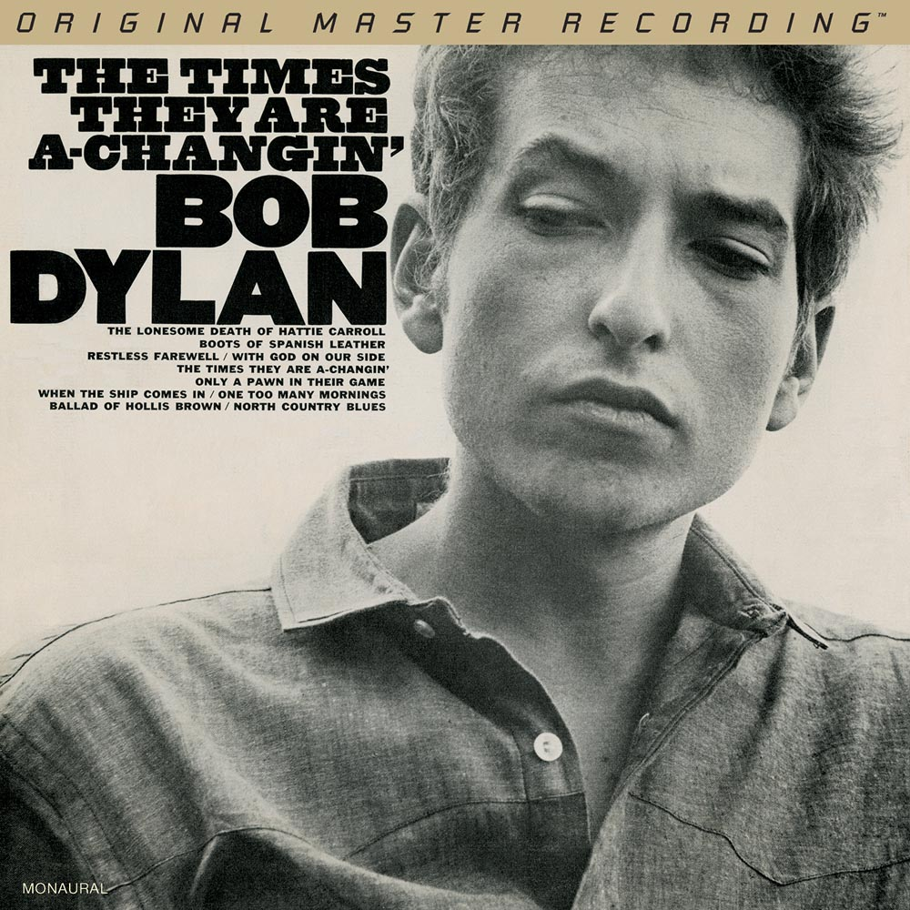 Bob Dylan - The Times They Are A-Changin' (Mono)