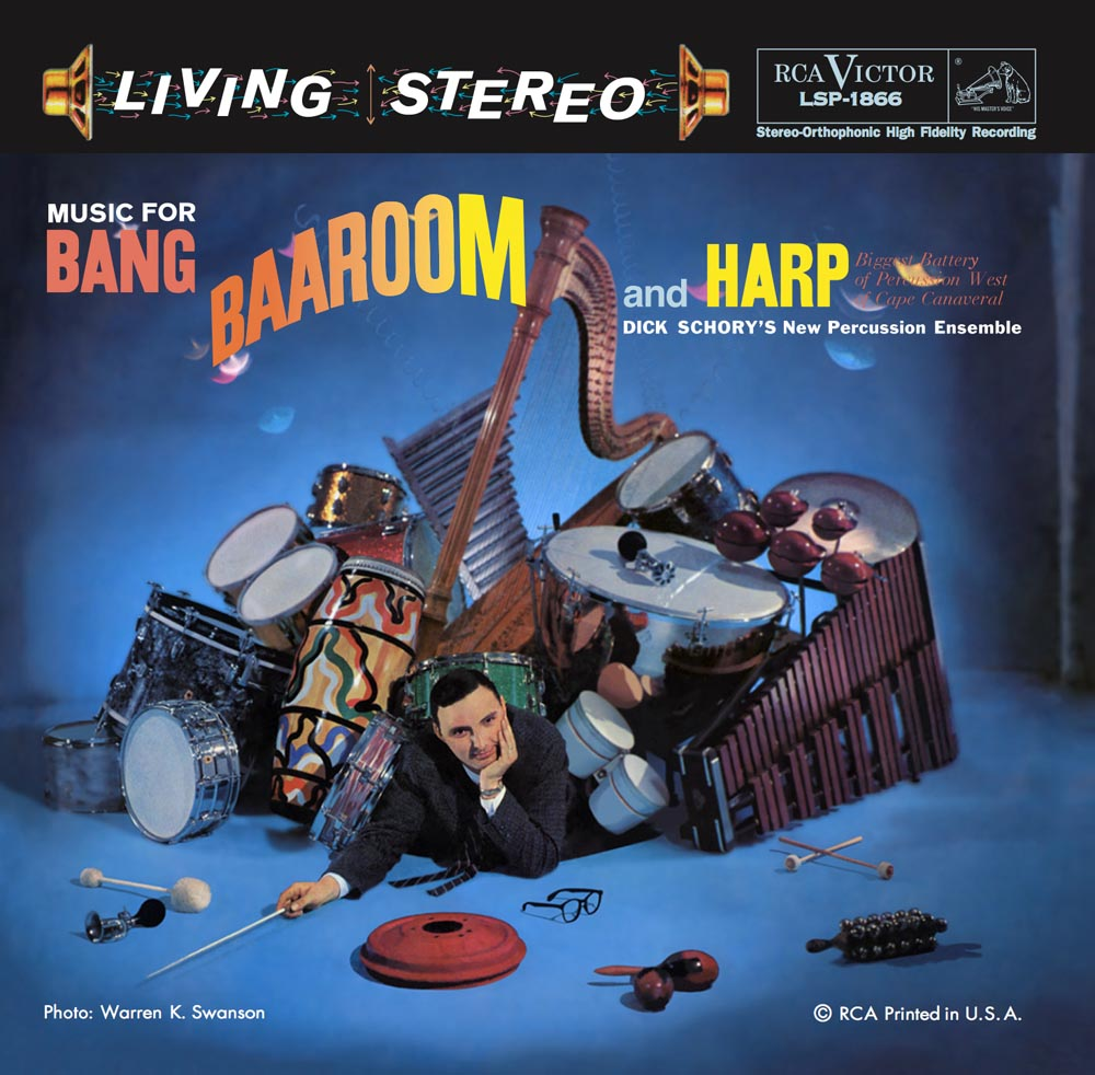 Dick Schory's New Percussion Ensemble - Music for Bang, Baaroom and Harp