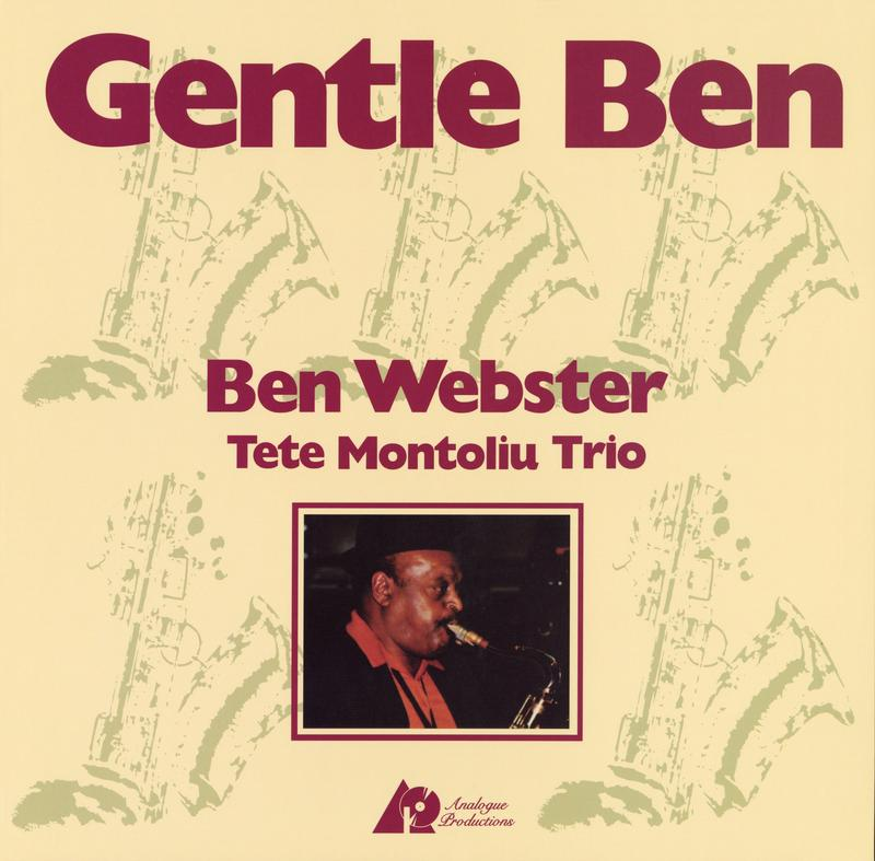 Ben Webster - Gentle Ben (200g 45rpm)