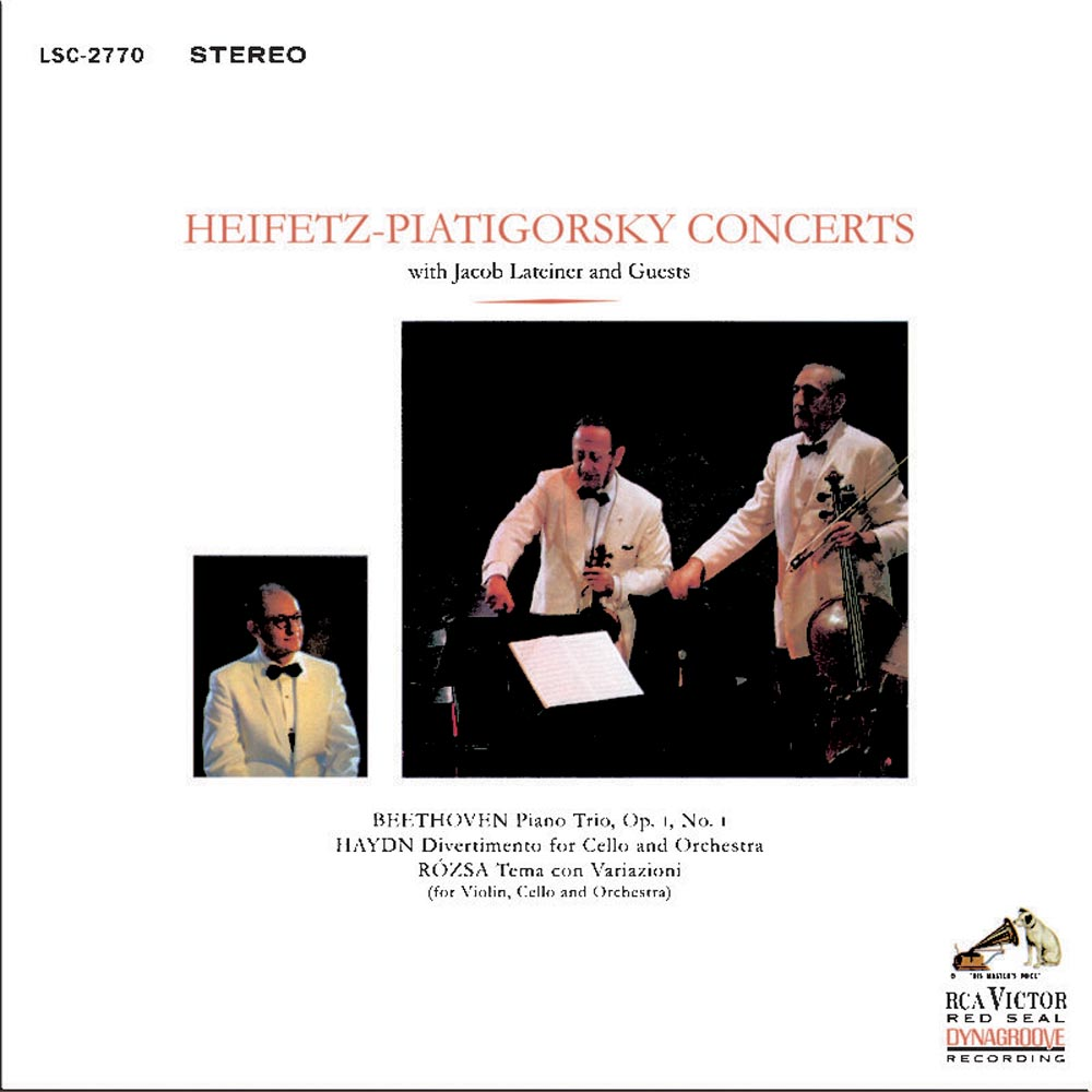 Heifetz-Piatigorsky Concerts with Jacob Lateiner & Guests