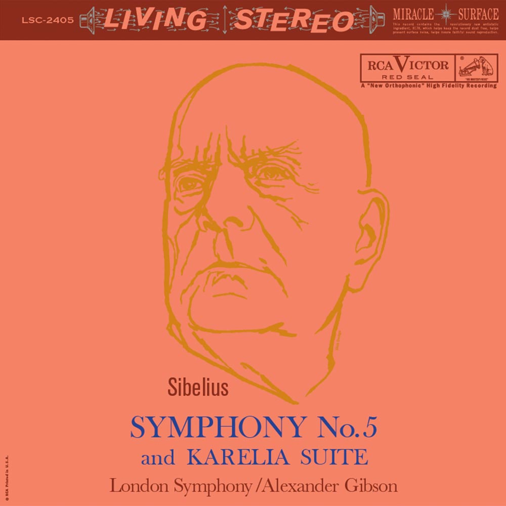 Alexander Gibson & London Symphony - Sibelius: Symphony No. 5 and Karelia Suite