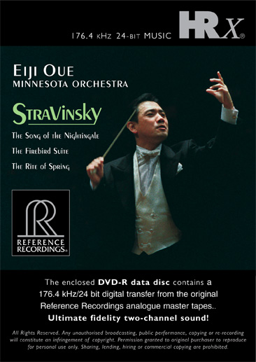 Eiji Oue & Minnesota Orchestra - Stravinsky: Song Of The Nightingale (HRx)